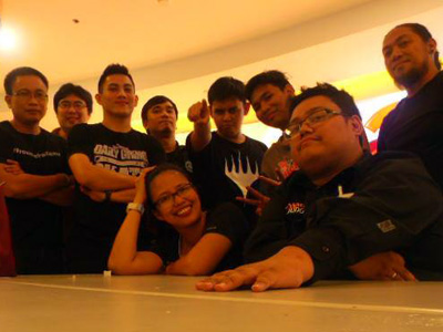 Part of the Judge staff during the third World Magic Cup Qualifiers PH last September 2015.