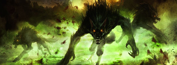 Red Green Werewolves Standard Deck