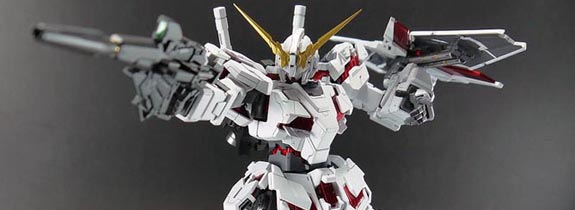 HG 1/144 scale Unicorn Gundam Destroy Mode by Daban Model