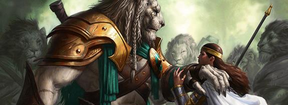 Ajani Mentor de Heroes Ajani-mentor-heroes-gw-deck